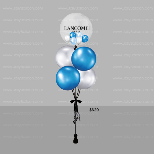 """24"""" Color Printing Crystal Balloon Bundle (Commercial Package V)"""